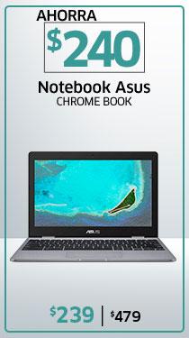 Notebook Asus Chrome book Celeron