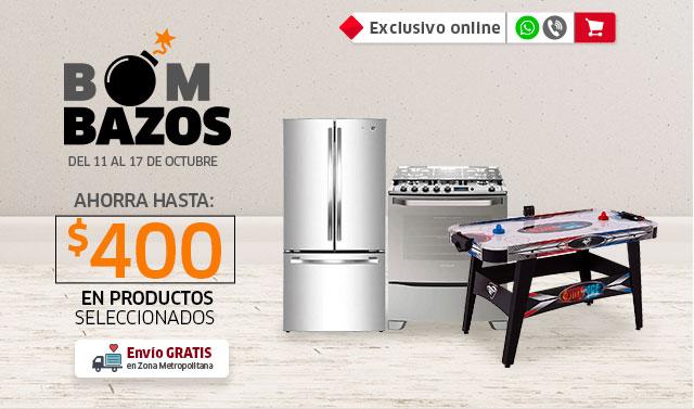 BOMBAZOS | AHORRA HASTA $400