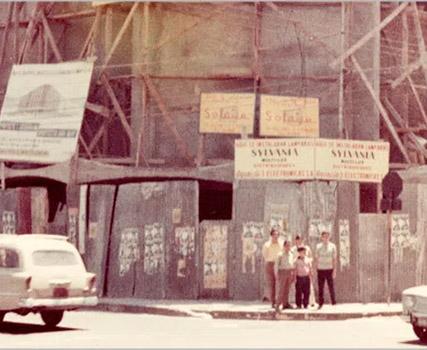 Edificio en construcción SIMAN